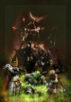 The Chaos Corps by graver13