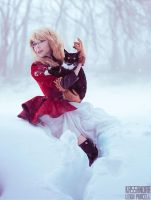 Red Coat - Kitty Cat. by KassandraLeigh