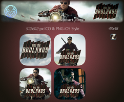 Into The Badlands TV Series Icon by g-Vita