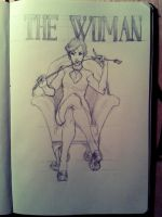 The Woman [Fanart] by MinemikoMali