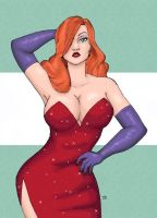 Jessica Rabbit_Colored by Rolzor