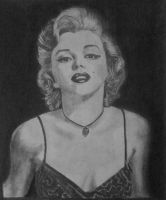 Marilyn Monroe by KatersArt