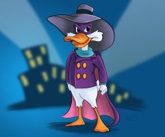 Darkwing Duck by wh1zper