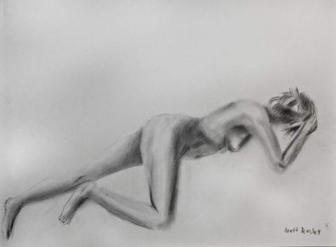 Figure Drawing-1 Hour by MattRasley