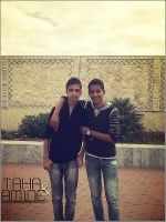 Me WiTh My FrienD Taha by CoolDes
