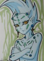 Astral ACEO card by LadyNin-Chan