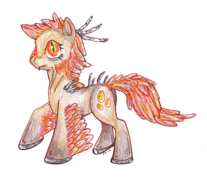 Prehistoric Ponies: Pegasus by TheFredricus