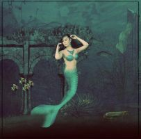 A sad mermaid by MorbidMorticia