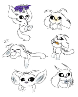 Ori sketches by KittyMery