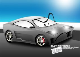 Billy the Whale by Alforata