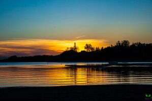 Another Glenmore Sunset by TheColourIndigo