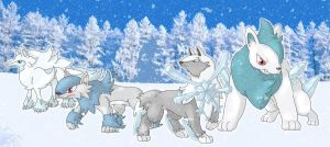 Fanart - Snow Alliance by Cid-Fox