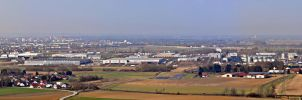 Straubing Panorama by PeriodsofLife
