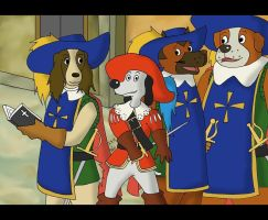 The Return of Dogtanian by R-ico