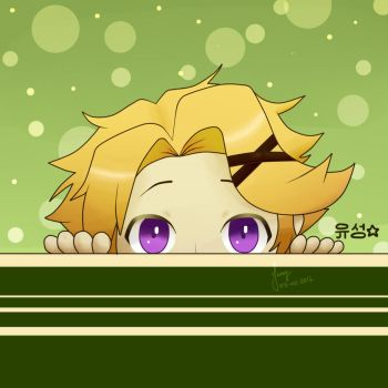 Yoosung - Cute by amyrose7