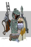 Bounty Hunter by Zamundiqua