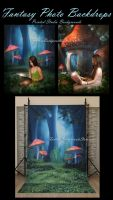 Printed Studio Backgrounds by moonchild-lj-stock