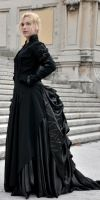 Victorian Gown - Tecnical Shot by LilywhiteBlack