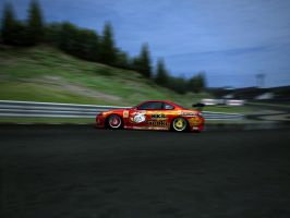 Nissan Silvia S15 Drifting by Brycey