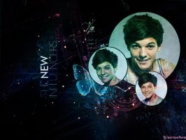 Louis  Tomlinson  Wallpaper by JoDirectioner