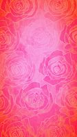 Pink Rose phone wallpaper/background  by XxDannehxX