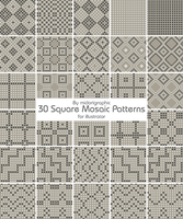 mosaic pattern by midorigraphic