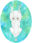 that one deer dude by BlackMayo