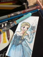 Elsa Bookmark by Kasugaxoxo