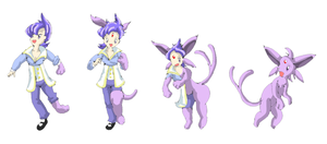Anabel TF Espeon by namida2wind