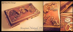 Steampunk Nintedo DS 3 by Absynthe Design by azazel-is-burning