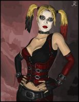 Arkham City - Harley Quinn by SpideyVille