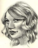 Taylor Swift by blindthistle
