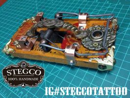 Stegco Rat Trap tattoo Foot Switch by Stegco