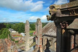 From the Roof of Melrose Abbey by AgiVega