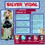 MH: Silver Vidal by GothicKitta