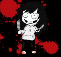 Jeff The Killer CHIBI by CreepyAdventures