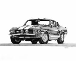 67 Mustang GT500 by jeffro70