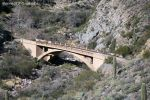 Abandoned Queen Creek Bridge by rjcarroll
