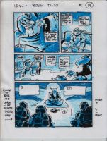 IDW TMNT Book Two Pg 19 by Kevineastman