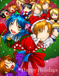 Happy Holidays by Roy-mustang-luver