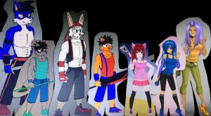 Characters of Hiro chronicles part 1 by kdrj4402