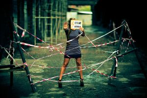 variation on the Stop theme by nleontiev