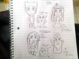 ADVENTURE TIME CHIBI!! by Claddle