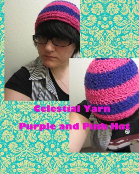 Purple And Pink Hat by GerudoRose502