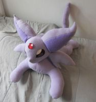 Large Espeon Plush by PakajunaTufty