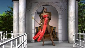President Red Dove of Shasheer by MuscleWomen-Planet