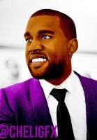 Kanye Coloring by Che1ique