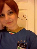 World Cup Italy Cosplay by hannz0rz