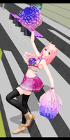 Luka cheerleader by ShootingStarBlue