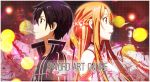 Kirito and Asuna Banner by hitsuhinabby